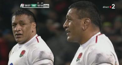 Retrouvez en vidéo le match dantesque du pilier anglais Mako Vunipola contre l'Irlande