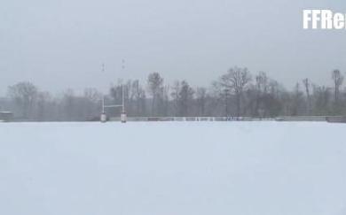La préparation des Bleus perturbée par la neige