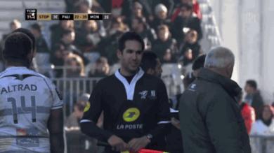 Quand le Rugbynistère s'invite dans un match de Top 14 à Pau