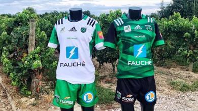 Montauban dévoile un maillot vert sapiac pour cette nouvelle saison