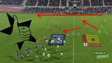 VIDEO. Pro D2 - Montauban nous montre comment réaliser un lancement de jeu à la perfection
