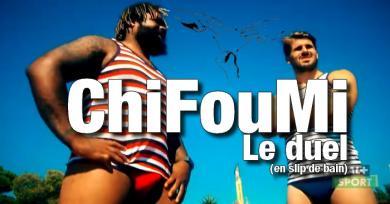 VIDEO. Moulés à la louche, Bastareaud et Bonneval s'affrontent au ChiFouMi