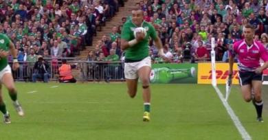 TRANSFERT : l'international irlandais Simon Zebo en pourparler avec un club de Top 14