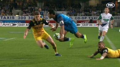 VIDEO. Super Rugby - Nanai rend hommage à Jordan et fait l'amour à Perenara et Barrett