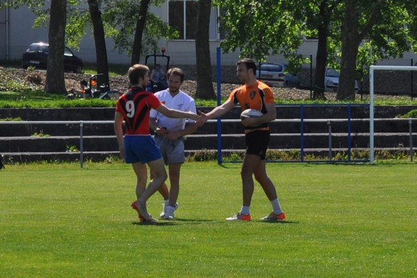 Le Pôle Santé Nancy champion académique de Lorraîne de rugby à VII