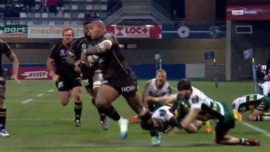 VIDEO. Champions Cup - Montpellier. Nemani Nadolo active le mode Jonah Lomu et marche sur les Saints