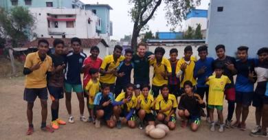 Vaches, mousson et valeurs, un Français s'est mis au diapason du rugby indien