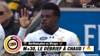 Premiership, 7e journée : Northampton vs Wasps. LE M+30 DU RUGBYNISTÈRE