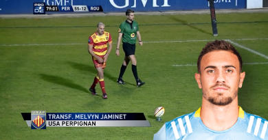 Nouvelle pépite de l'USAP, qui es-tu Melvyn Jaminet ?