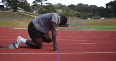 Découvrez l'histoire d'un sprinteur à la poursuite...du maillot des All Blacks ! [VIDÉO]