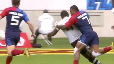 VIDÉO. Paris 7s. La France éliminée en demi-finale contre les Fidji malgré un très bon Vakatawa