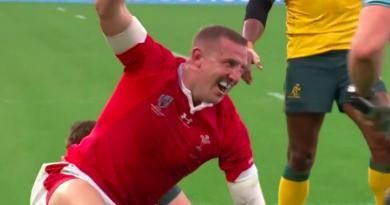 Coupe du monde - Le Pays de Galles se place premier de poule en dominant les Australiens [Vidéo]