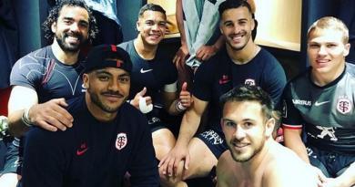 Pita Ahki, l'atout surprise de la ligne de 3/4 du Stade Toulousain