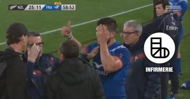 VIDEO. Polémique autour de la sérieuse blessure de Rémy Grosso face aux All Blacks