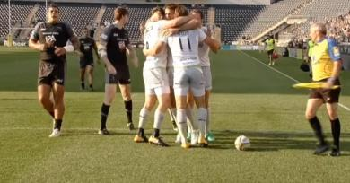 VIDEO. Premiership : les Saracens l'emportent sur Newcastle, gros couac pour la délocalisation aux USA