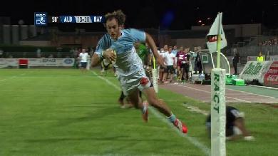 VIDEO. Pro D2 - Bayonne. Julien Jané passe la défense d'Albi en revue sur 60m