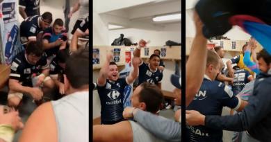 Pro D2 - La joie communicative de Colomiers après sa victoire à Biarritz [VIDÉO]