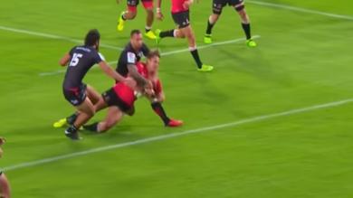 VIDEO. Super Rugby : expulsé face aux Lions, Quade Cooper est suspendu trois semaines