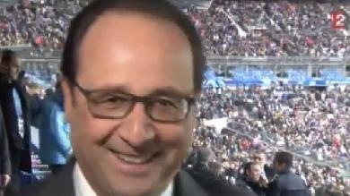XV de France. INSOLITE. Quand François Hollande milite pour la sélection de Gaëtan Germain