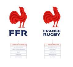 Que représente le nouveau logo de la Fédération Française de Rugby ?