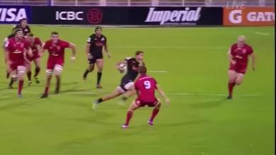 Vidéo. Super Rugby. Ramiro Moyano laisse 5 adversaires sur le carreau pour un essai tout en évitement