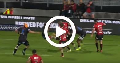 Super Rugby –Lapercussion de l'année signéeSevuReece![VIDÉO]