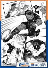 Le geste du jour en manga : Reece, Mo'unga et Barrett s'allient pour crucifier les Irlandais