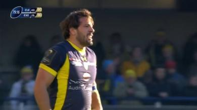 VIDEO. Champions Cup - Clermont. Rémi Lamerat en forme internationale face à Exeter