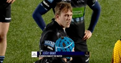 Pro 14 - La performance stratosphérique au plaquage de Jonny Gray contre le Leinster [VIDEO]