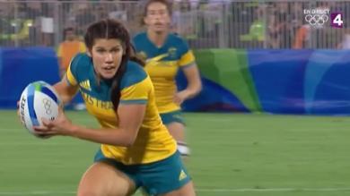 VIDÉO. Rio 2016. Rugby à 7. Les Australiennes remportent l'or en finale contre la Nouvelle-Zélande (24-17)