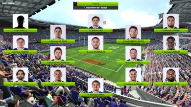 Le XV de France domine les USA...sur Rugby 20 !