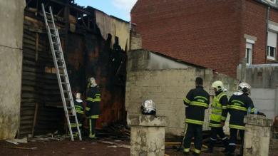 PHOTOS. Rugby Amateur : le club house de Douai endommagé par un incendie accidentel