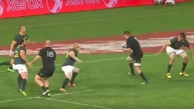 VIDEO. Rugby Championship. Springboks - All Blacks : l'essai de la victoire de Richie McCaw était-il valable ?