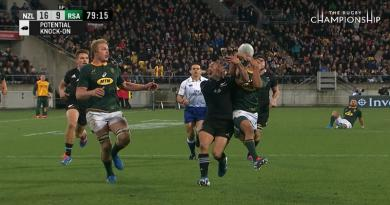 Rugby Championship - Herschel Jantjies décisif face aux All Blacks après un contrôle de la joue [VIDÉO]