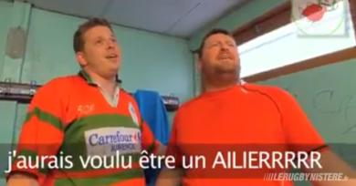 VIDEO. Rugby Amateur : le blues pour de rire, ou quand des pilars s'éclatent sur Starmania