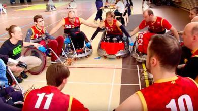 Vidéo. La belle réussite du rugby fauteuil à Lille