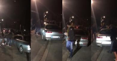 VIDÉO. Insolite : les Espoirs du RC Aubenas-Vals joignent leur force pour... déplacer une voiture gênante