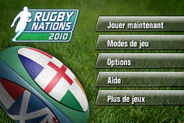 Rugby Nations 2010 pour iPhone