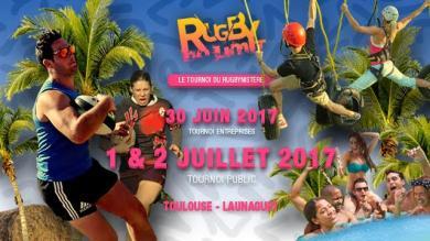 Le Rugbynistère organise son 2e Rugby No Limit - 1 et 2 juillet 2017 à Toulouse - Launaguet