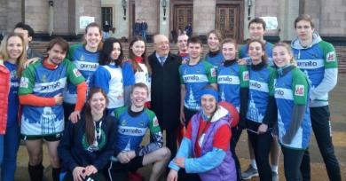 Neige, esprit de famille et rugby russe féminin : la belle aventure d'une Française à Moscou