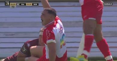 VIDEO. Top 14. Saili découpe et Biarritz marque le premier essai de la saison avec la manière