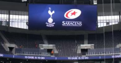 Premiership - LesSaracenssignentun contrat avec... leclub de football de Tottenham!