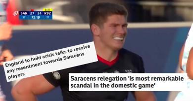 Comment la presse étrangère a reçu la sanction des Saracens ?