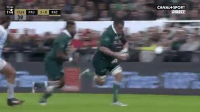 VIDEO. Top 14 - Section Paloise : James Coughlan plaqué par... son propre coéquipier