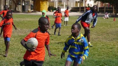Au Sénégal, le développement du rugby passe par les jeunes, avec un Français au cœur du projet