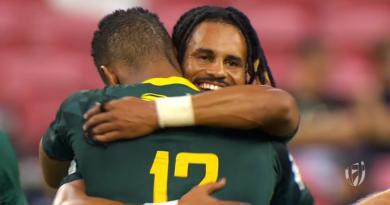 Singapour 7s - L'incroyable comeback des Blitzboks en finale face aux Fidji [VIDEO]
