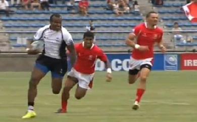 VIDEO. A 37 ans, Sireli Bobo court toujours et offre la Pacific Nations Cup aux Fidji