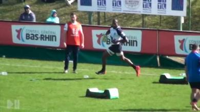 VIDEO. Fédérale 1 - RC Strasbourg : Sireli Bobo encore phénoménal avec un doublé face à Castanet