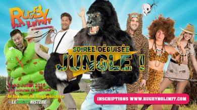 Le thème de la soirée déguisée du Rugby No Limit a été décidé : ce sera JUNGLE !