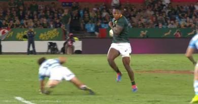 Springboks : S'busiso Nkosi dépose trois défenseurs pour l'incroyable essai en solo ! [VIDEO]